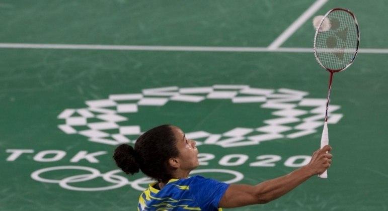 Fabiana não conseguiu nenhuma vitória em sua primeira participação em Olimpíada