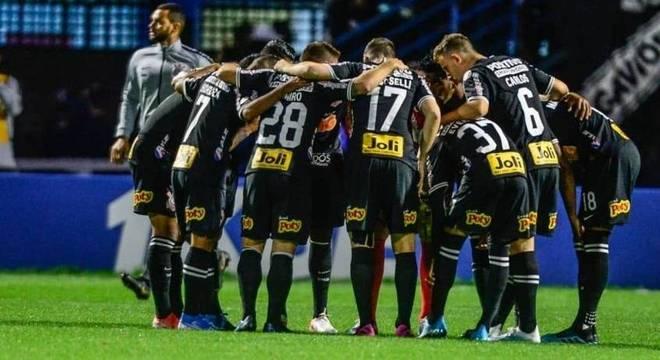 Corinthians empatou contra o Avaí no último domingo