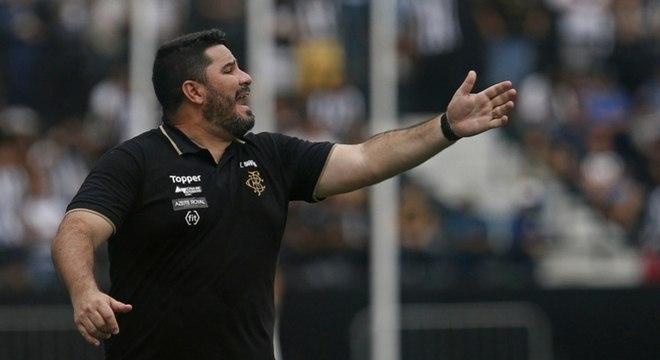 Eduardo Barroca está de volta ao Botafogo