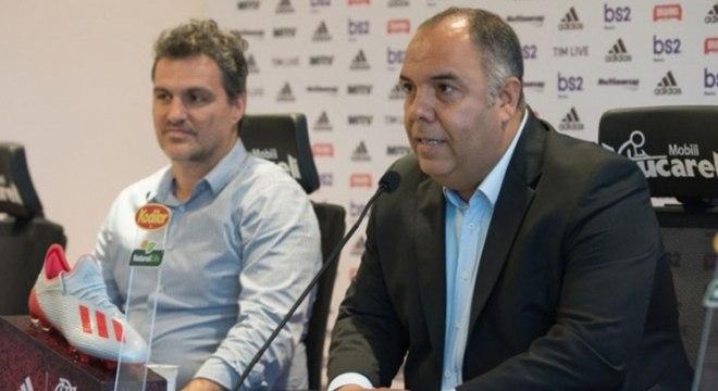 Bruno Spindel e Marcos Braz estão em Milão para acerto definitivo com Gabigol