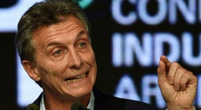 Mauricio Macri foi presidente da Argentina entre 2015 e 2019