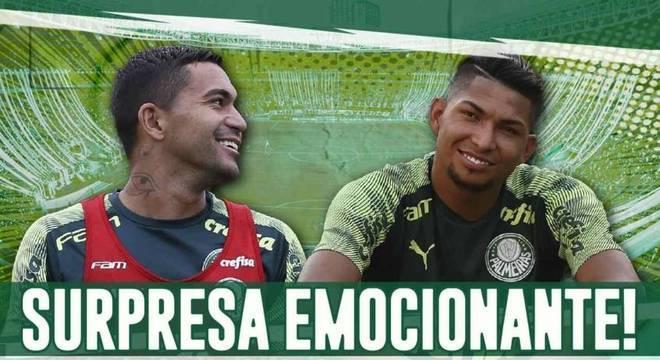 Palmeiras faz surpresa especial aos jogadores