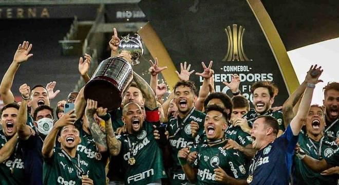 Time venceu Libertadores