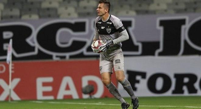 Victor disputou sua última partida pelo Atlético-MG
