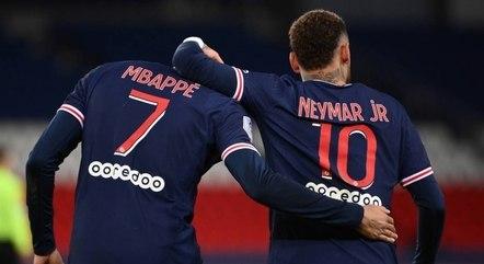 Neymar e Mbappé buscam conquistar Champions