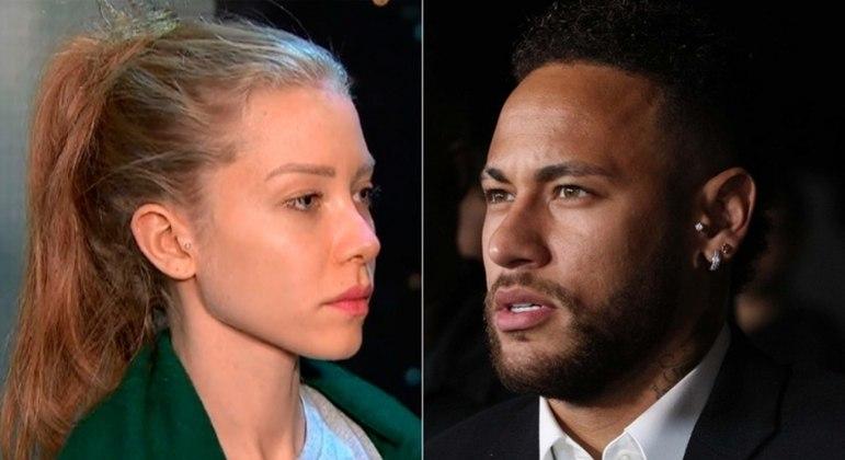 Modelo Najila Trindade acusou atacante Neymar de estupro em 2019