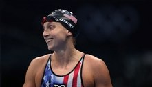 Ledecky é ouro na 1ª prova dos 1500 m livre da história dos Jogos