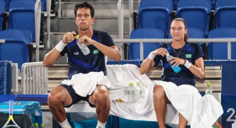 Marcelo Melo reclamou da postura de Djokovic em quadra