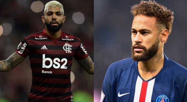 Gabigol e Neymar são grandes amigos e jogam juntos na seleção