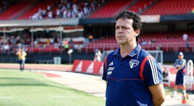 Fernando Diniz tem 100% de aproveitamento como mandante pelo São Paulo