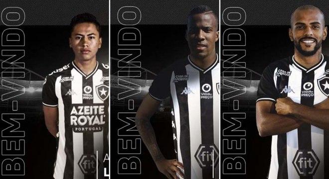 Botafogo é o time do Rio que mais contratou até o momento