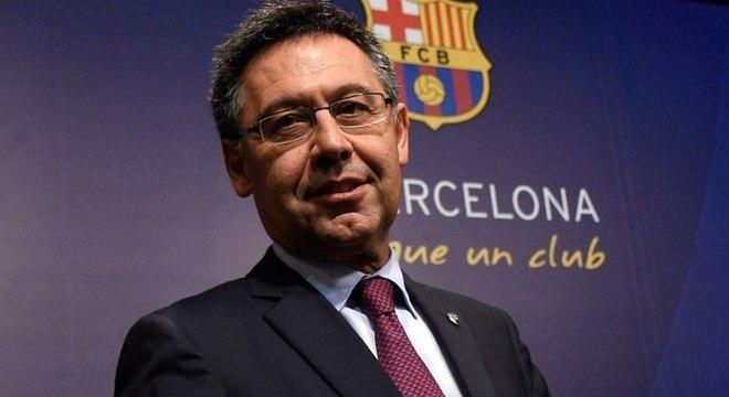 Josep Maria Bartomeu vai pensar em Neymar na janela do meio do ano