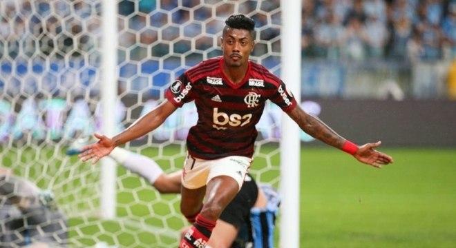 Bruno Henrique permanecerá no Flamengo até 2023