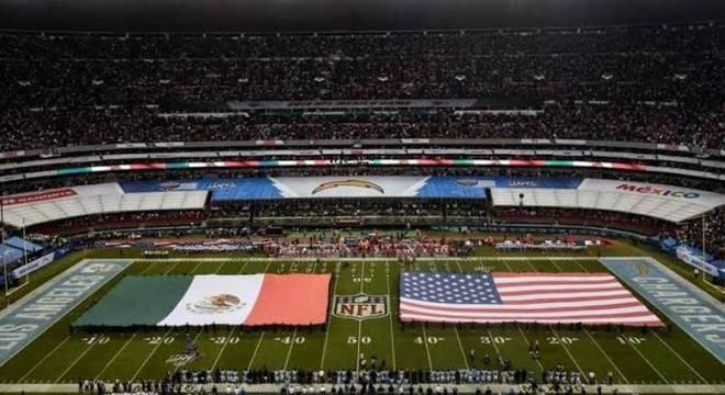 Azteca foi palco do confronto entre Chiefs e Chargers na temporada 2019