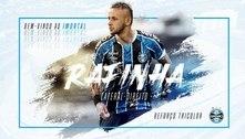 Rafinha se torna, oficialmente, o novo reforço do Grêmio