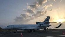 Avião de Leila Pereira está em Portugal para buscar Abel Ferreira