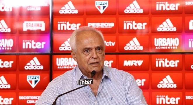 Leco deixará a presidência do São Paulo em dezembro desse anoa