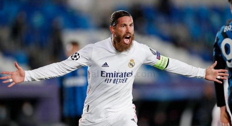 Sergio Ramos quer renovar com o Real Madrid