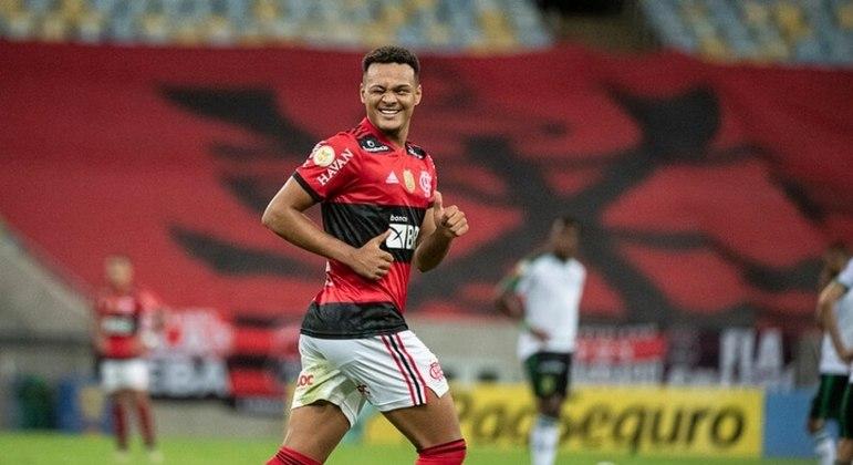 Rodrigo Muniz, promessa da base do Flamengo, interessa ao Atlético de Madrid