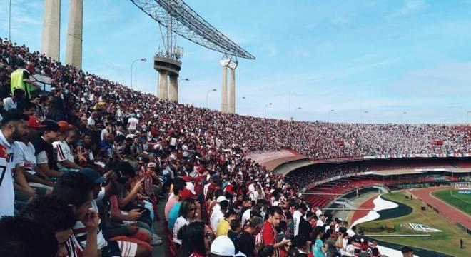 São-paulinos registram uma média superior a 35 mil torcedores por partida