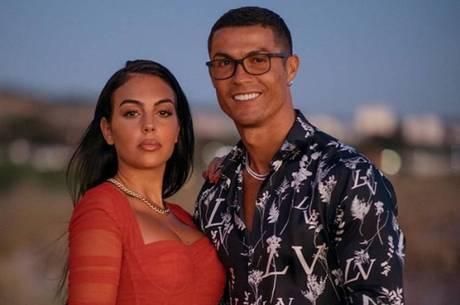 Cristiano Ronaldo e a modelo Georgina Rodriguez