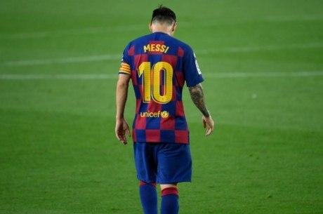 Messi tornou público desejo de sair do Barça