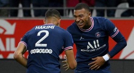 PSG venceu, neste domingo, pelo Campeonato Francês