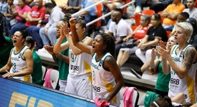 Brasileiras venceram as porto-riquenhas por 29 pontos de vantagem