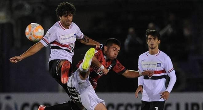 Última vitória foi contra Danubio pela fase de grupos da edição 2015