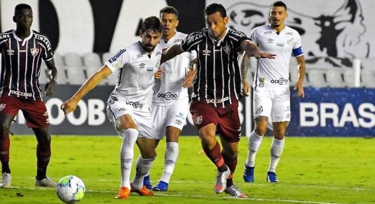 Santos e Fluminense, na Vila Belmiro, é adiado para 27 de outubro