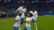 Com gols dos brasileiros Claudinho e Wendel, Zenit vence o Malmö em jogo tranquilo na Champions League