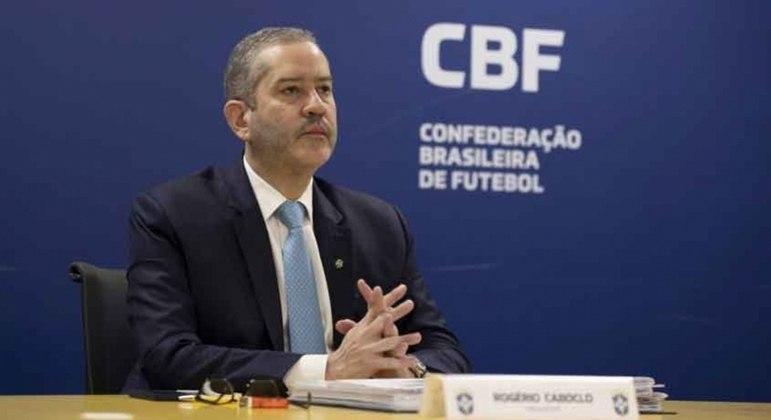 Rogério Caboclo está afastado da presidência da CBF