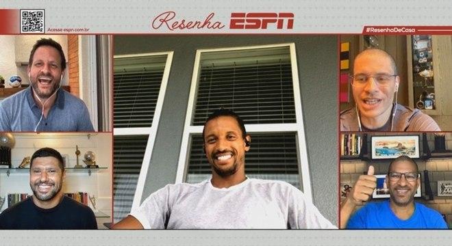 Convidado do Resenha ESPN, Nani fala sobre relação com CR7