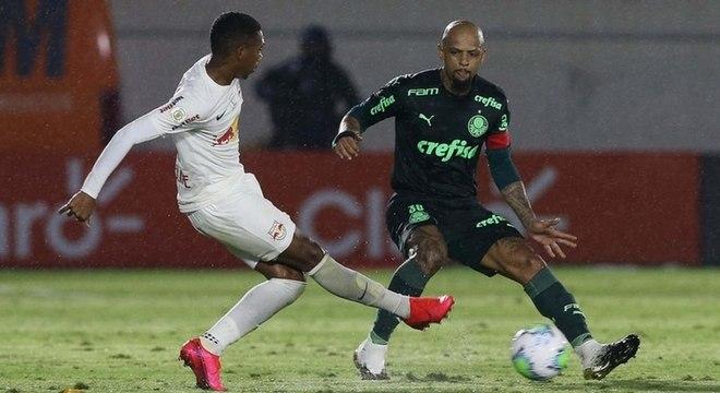 Capitão do Palmeiras, Felipe Melo elogia Andrey Lopes: 'Tem o Cebolismo, né?'
