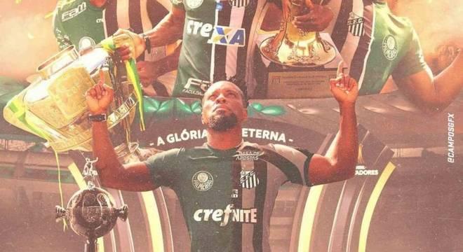 Zé Roberto foi ídolo das torcidas de Palmeiras e Santos, finalistas da Libertadores