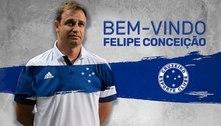 Cruzeiro confirma a contratação do técnico Felipe Conceição