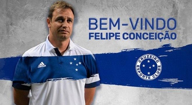 Felipe Conceição comandou o Guarani na última Série B