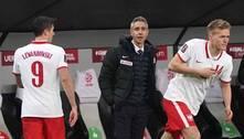 Lesionado, Lewandowski não enfrenta o PSG pela Champions