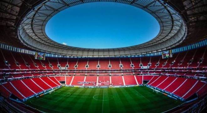 Flamengo jogará no Mané Garrincha alguns dias antes de clássico