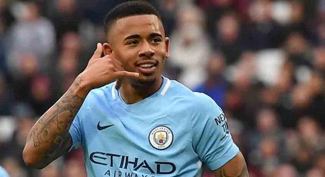 Gabriel Jesus ainda não pensa em renovar contrato com o Manchester City