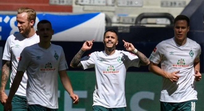 Filho de brasileiro, Leonardo Bittencourt marca o gol da vitória do Werder Bremen