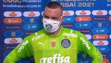 Weverton minimiza derrota e vê Palmeiras na briga por títulos
