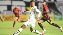 Sem inspiração, Santos só empata com o Sport na Vila Belmiro