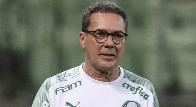 Vanderlei Luxemburgo ficou satisfeito com a atuação do Palmeiras