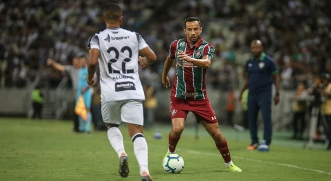 Nenê não conseguiu ajudar o Fluminense no duelo com o Ceará