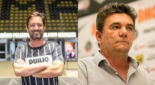 Duílio continuará mandato de chapa de Andrés Sanchez