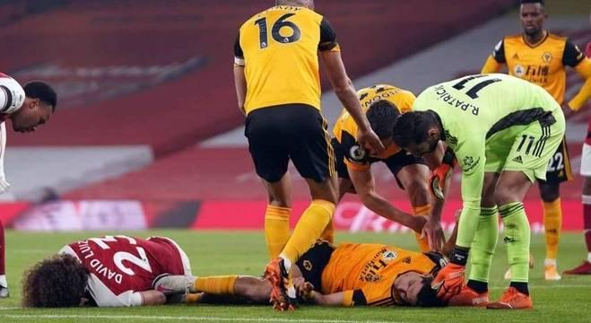 Jiménez sofreu fratura no crânio em trombada com Daviz Luiz