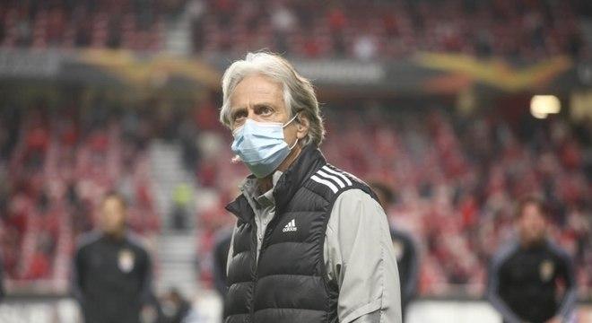 Jorge Jesus se envolveu em polêmica após jogo do Benfica