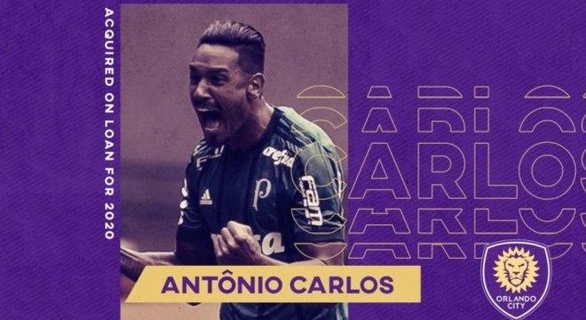 Antônio Carlos atuará nos Estados Unidos em 2020
