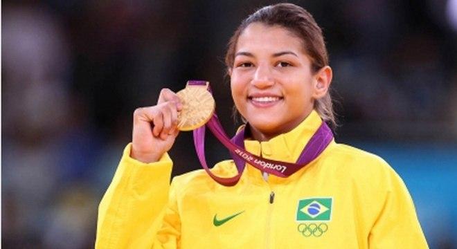 Sarah Menezes conquistou a medalha de ouro em Londres 2012